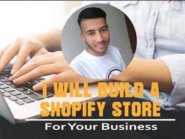 i will design shopify store for your business