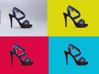 Shoe Photo Background Removal