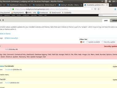 Drupal 7 core update