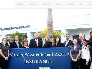 WWFins Insurance Website
