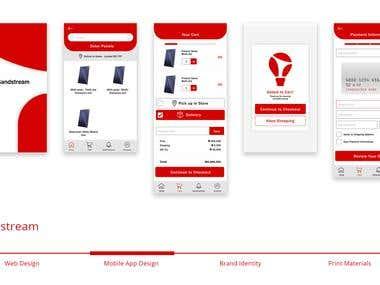 Sandstream Mobile App