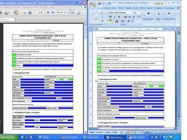 Convert the Word Files into PDF