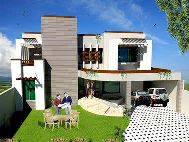 i will create 2d 3d floor plan, exterior and interior,sketch