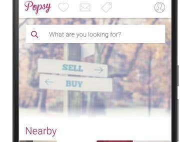 Buy & Sell Items App (Popsy)