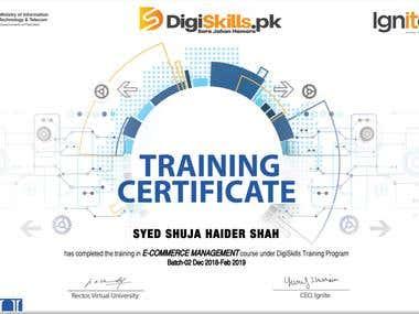 E-commerce Certification