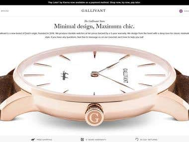 Shopify Store #11 (https://gallivantwatches.com)