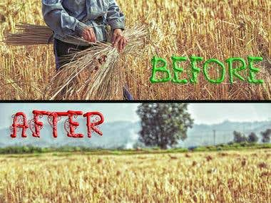 Image Editing & Before After