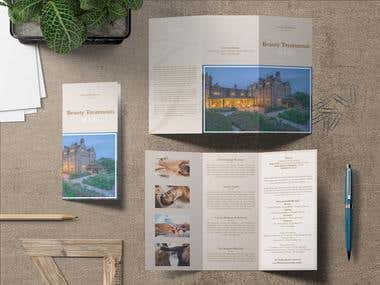 Ruuby x Gravetye Manor - Treatment menu