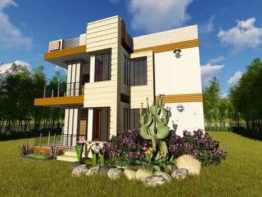 2 Storey Residential House