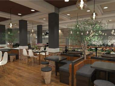 Restaurant and Cafe Interior Design