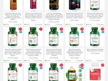 Simply Herbal - https://www.simplyherbal.in (Ecommerce)