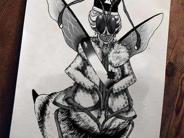 Reina Abeja - Queen Bee