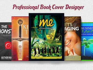 Design Awesome Book Cover or ebook cover within 24 hours