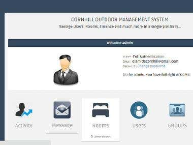 Outdoor Management System