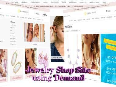 Demandware e-commerce site