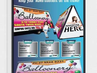 Bill Board Flyer