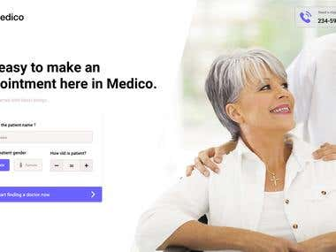 Medico - Book Patient Appointment