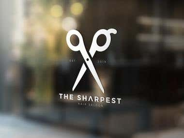 Logo Design For hair salon