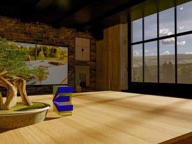 Loft render design