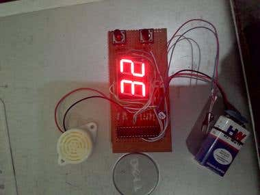 Kitchen timer and fire alarm