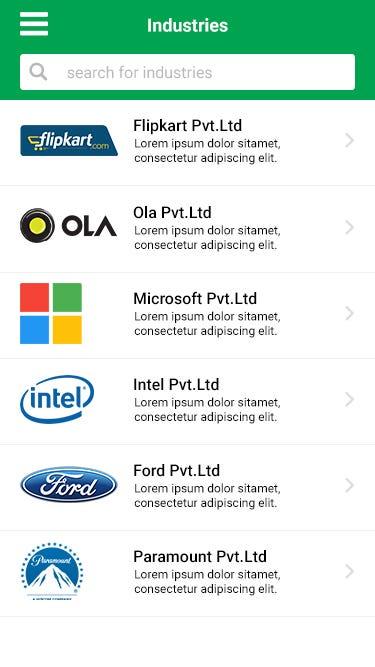 Industry App
