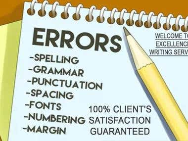 I Proofread, Edit Books, Websites, Articles and Blogs etc.