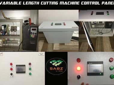Cutting Machine Panel