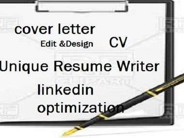 I Will Create A Superb Linkedin Profile,Resume,Cover Letter