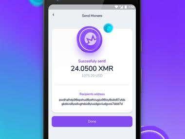 Monero Wallet App
