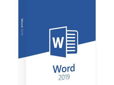Write anything on Word