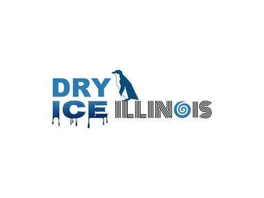Logo for company - Dry ICE