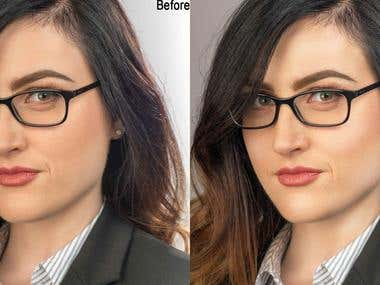 Photo Retouching and Enhancement