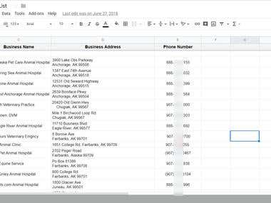 Veterinarian USA Directory List