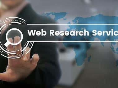 I Will Market Research,Data Entry, Lead Generation