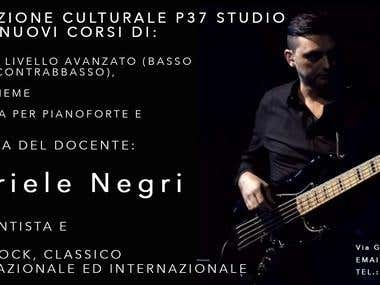 Course that will be held in my studio by Gabriele Negri