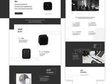 VEGG Landing Page