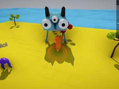 Unity3D - Little World Of Creatures