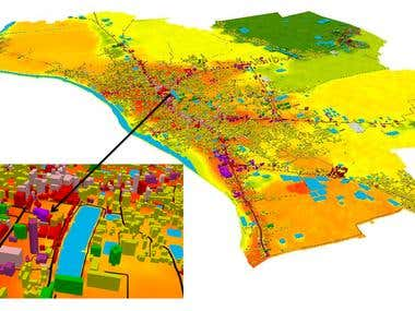GIS Mapping and Spatial Analysis using ArcGIS, QGIS