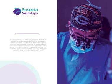 Logo design for an Eye Hospital
