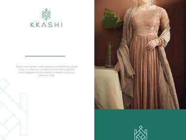 Logo Design for KKashi, a multi designer Store