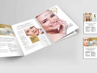 Leaflet/ Catalogue Design