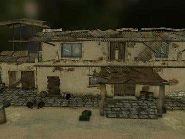 Gameplay Environment - 3D Game Art