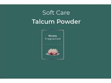 Talcum powder Sticker