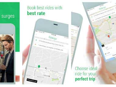 Taxi booking - Flit Surge ride