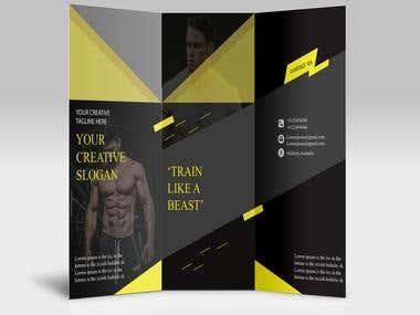 Brochure design,