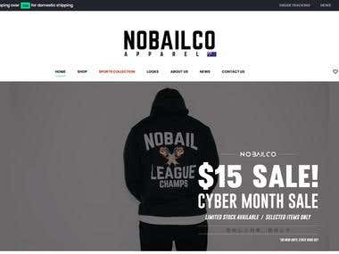NOBAILCO - eCommerce Website