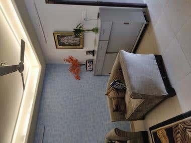 Budget 2BHK apartment