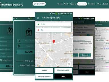 Drop And pickup Delivery APP