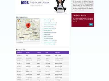Job Recruiting Website