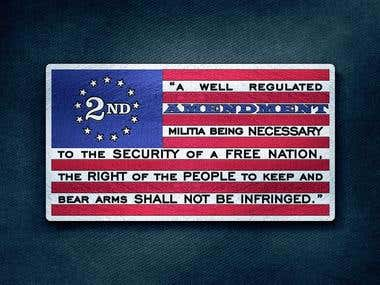 2A USA Flag